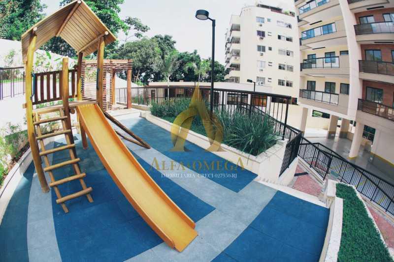 23 - Cobertura Avenida São Guilherme de Norwich,Anil, Rio de Janeiro, RJ Para Venda e Aluguel, 4 Quartos, 169m² - AOJ50035 - 16