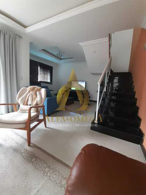 1 - Casa em Condomínio à venda Estrada Campo da Areia,Pechincha, Rio de Janeiro - R$ 750.000 - AOJ60063 - 5