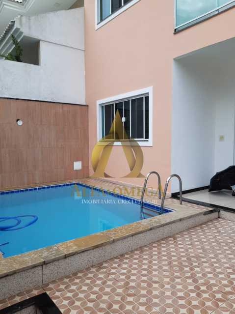 6 - Casa em Condomínio à venda Estrada Campo da Areia,Pechincha, Rio de Janeiro - R$ 750.000 - AOJ60063 - 30