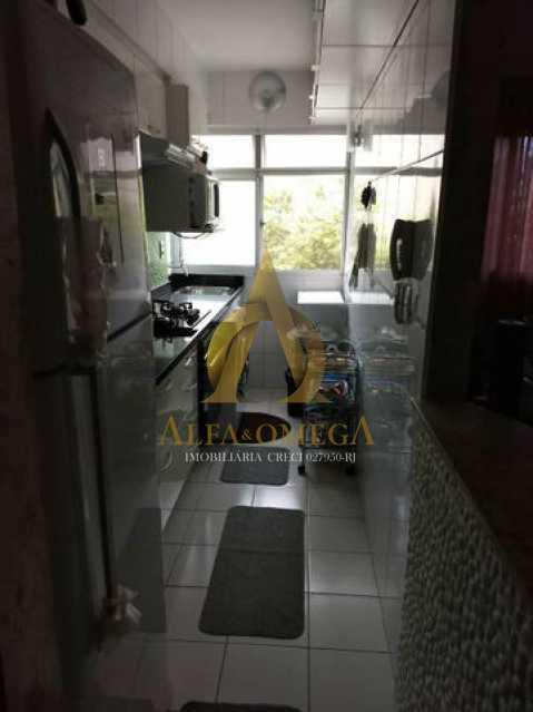 2 - Apartamento Estrada dos Bandeirantes,Curicica, Rio de Janeiro, RJ À Venda, 2 Quartos, 51m² - AOJ20168 - 9