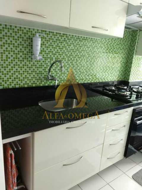4 - Apartamento Estrada dos Bandeirantes,Curicica, Rio de Janeiro, RJ À Venda, 2 Quartos, 51m² - AOJ20168 - 12