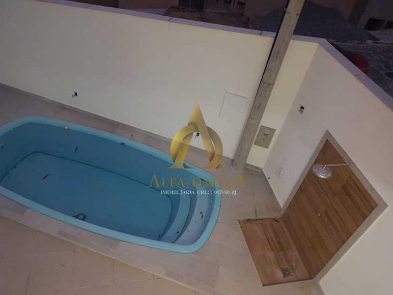 5 - Casa em Condomínio 4 quartos à venda Taquara, Rio de Janeiro - R$ 900.000 - AOJ60066 - 12
