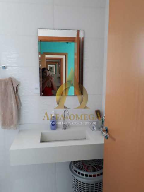 8 - Casa em Condomínio Estrada do Rio Grande,Taquara, Rio de Janeiro, RJ À Venda, 2 Quartos, 130m² - AOJ60067 - 12