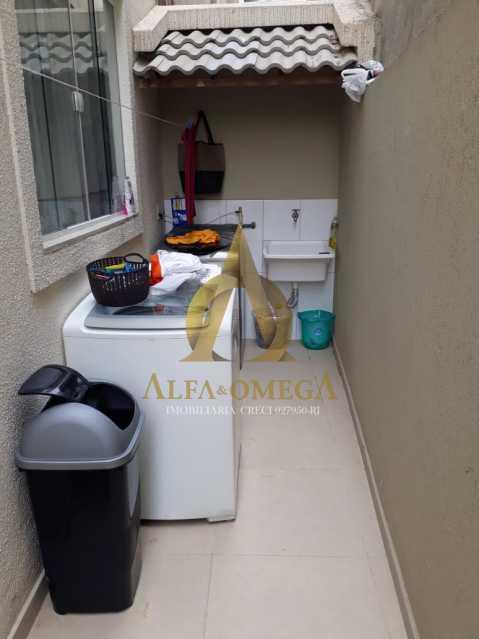 21 - Casa em Condomínio Estrada do Rio Grande,Taquara, Rio de Janeiro, RJ À Venda, 2 Quartos, 130m² - AOJ60067 - 20