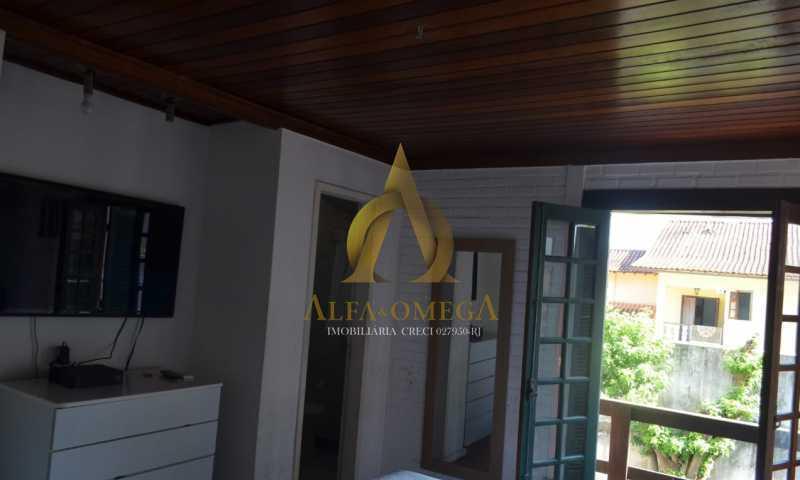 6 - Casa em Condomínio Rua Ituverava,Anil, Rio de Janeiro, RJ À Venda, 3 Quartos, 192m² - AOJ60069 - 5