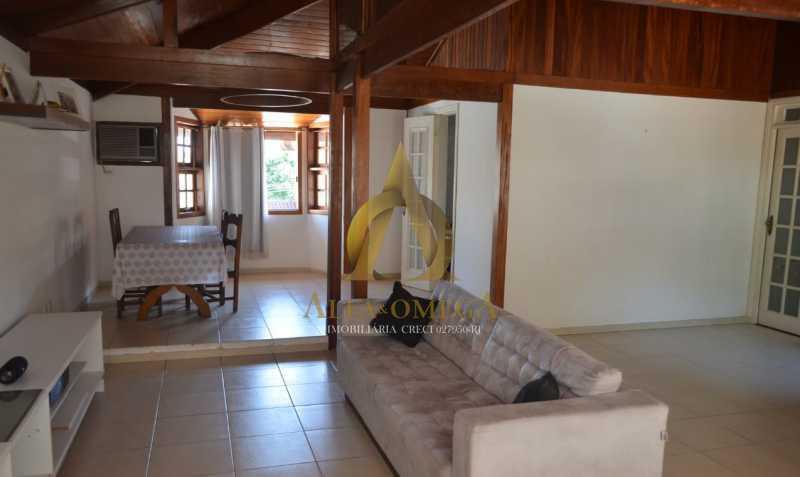 10 - Casa em Condomínio Rua Ituverava,Anil, Rio de Janeiro, RJ À Venda, 3 Quartos, 192m² - AOJ60069 - 1