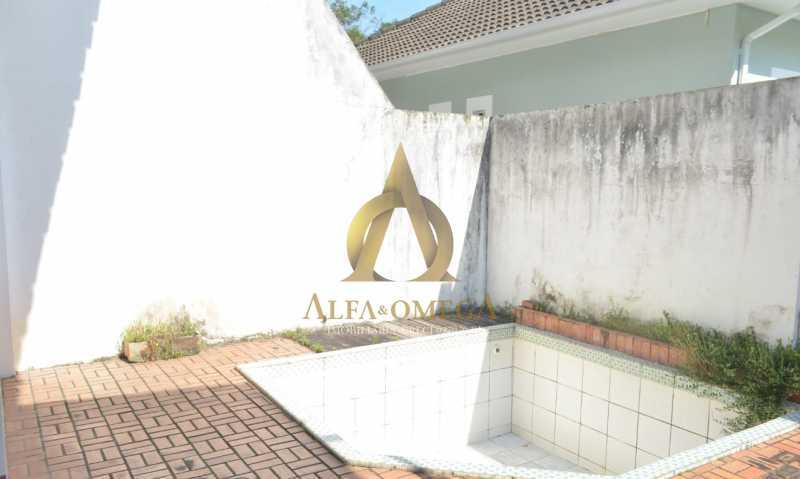 12 - Casa em Condomínio Rua Ituverava,Anil, Rio de Janeiro, RJ À Venda, 3 Quartos, 192m² - AOJ60069 - 17