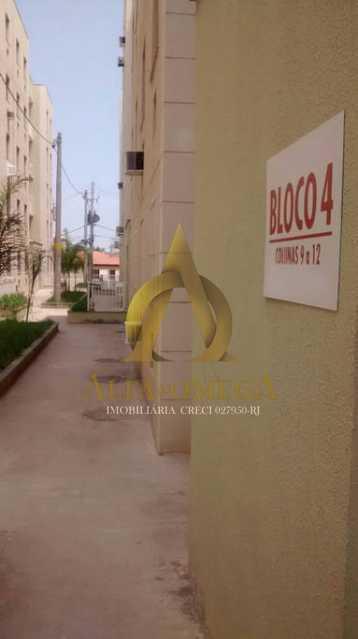 5 - Apartamento Estrada da Boiuna,Taquara, Rio de Janeiro, RJ Para Alugar, 2 Quartos, 58m² - AOJ20053L - 9