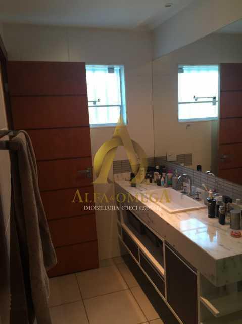 11 - Casa em Condomínio 4 quartos à venda Barra da Tijuca, Rio de Janeiro - R$ 3.800.000 - AO60135 - 17