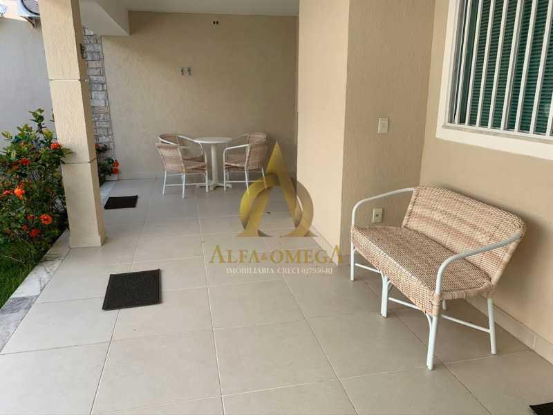18 - Casa em Condomínio 4 quartos à venda Barra da Tijuca, Rio de Janeiro - R$ 3.800.000 - AO60135 - 4