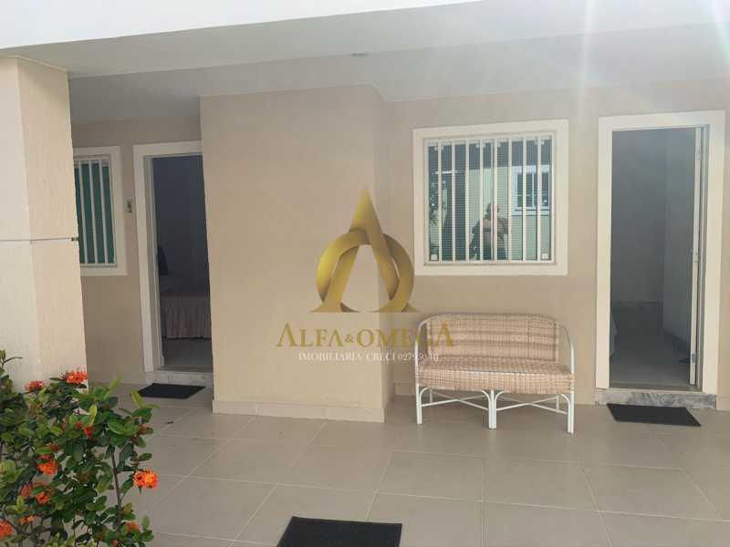 20 - Casa em Condomínio 4 quartos à venda Barra da Tijuca, Rio de Janeiro - R$ 3.800.000 - AO60135 - 1