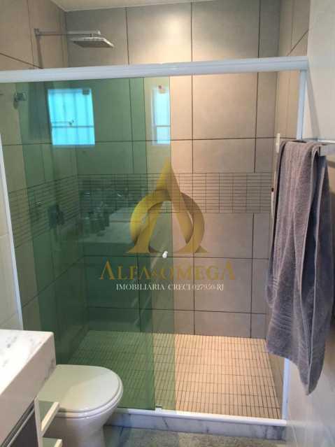 21 - Casa em Condomínio 4 quartos à venda Barra da Tijuca, Rio de Janeiro - R$ 3.800.000 - AO60135 - 23