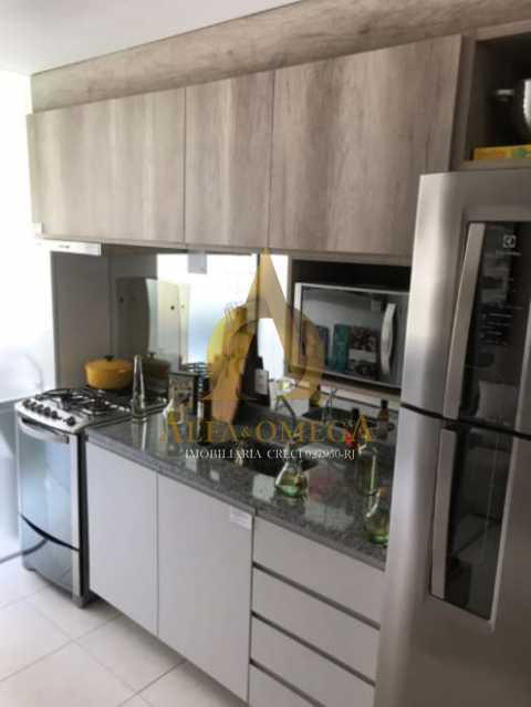 2 - Apartamento à venda Estrada do Engenho D´Agua,Anil, Rio de Janeiro - R$ 315.000 - AOJ20179 - 9
