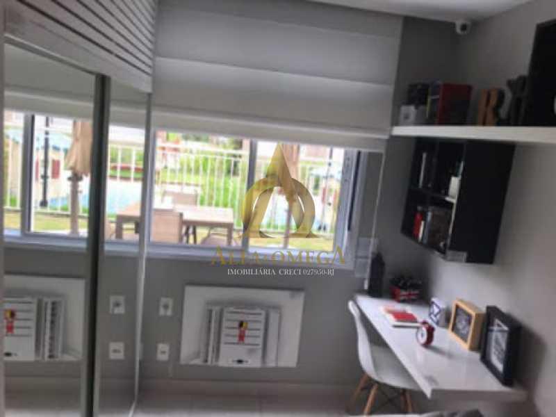 4 - Apartamento à venda Estrada do Engenho D´Agua,Anil, Rio de Janeiro - R$ 315.000 - AOJ20179 - 7