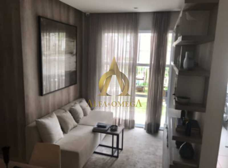7 - Apartamento à venda Estrada do Engenho D´Agua,Anil, Rio de Janeiro - R$ 315.000 - AOJ20179 - 3