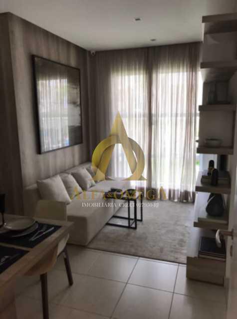 8 - Apartamento à venda Estrada do Engenho D´Agua,Anil, Rio de Janeiro - R$ 315.000 - AOJ20179 - 1