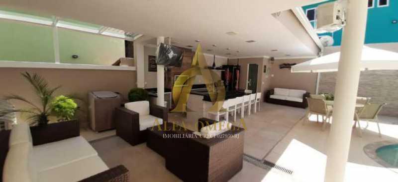 7 - Casa em Condomínio Taquara, Rio de Janeiro, RJ À Venda, 3 Quartos, 368m² - AOJ60076 - 8