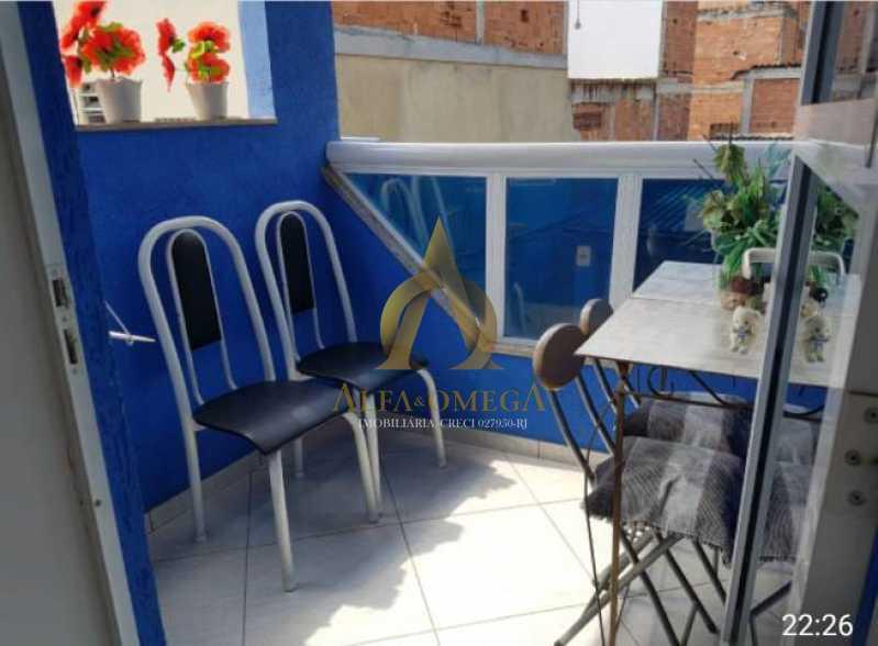 5 - Casa em Condomínio Estrada Mapua,Jacarepaguá, Rio de Janeiro, RJ Para Alugar, 3 Quartos, 200m² - AOJ60028L - 3
