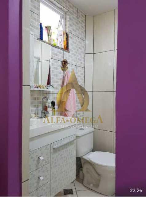 6 - Casa em Condomínio Estrada Mapua,Jacarepaguá, Rio de Janeiro, RJ Para Alugar, 3 Quartos, 200m² - AOJ60028L - 8