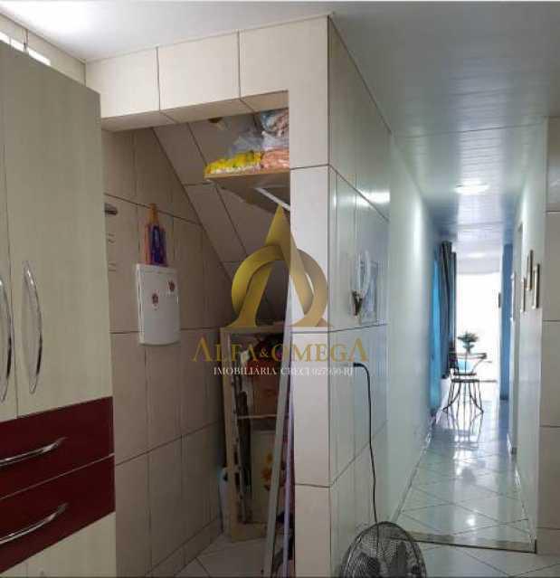 7 - Casa em Condomínio Estrada Mapua,Jacarepaguá, Rio de Janeiro, RJ Para Alugar, 3 Quartos, 200m² - AOJ60028L - 10
