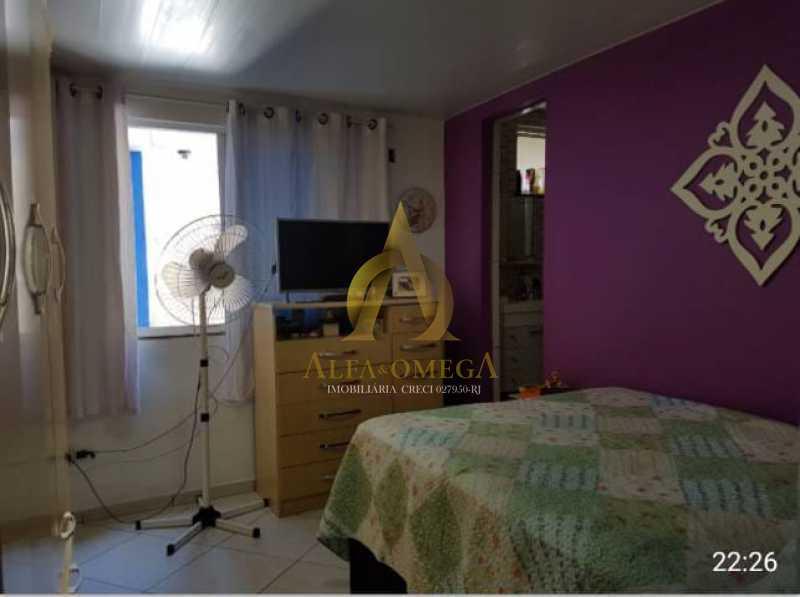 8 - Casa em Condomínio Estrada Mapua,Jacarepaguá, Rio de Janeiro, RJ Para Alugar, 3 Quartos, 200m² - AOJ60028L - 6
