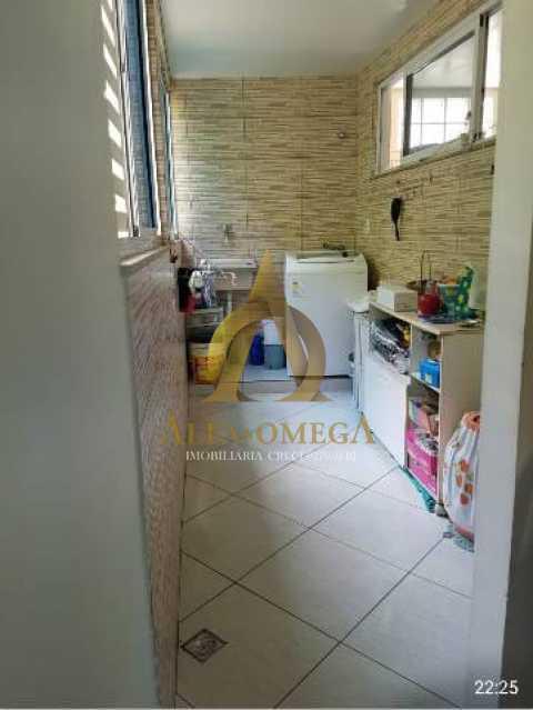 9 - Casa em Condomínio Estrada Mapua,Jacarepaguá, Rio de Janeiro, RJ Para Alugar, 3 Quartos, 200m² - AOJ60028L - 15