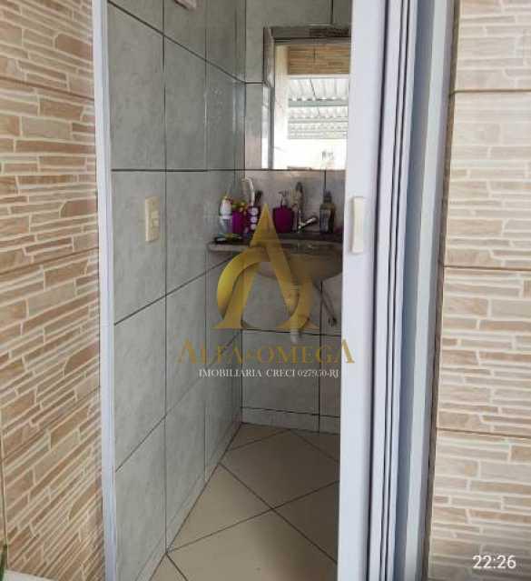 14 - Casa em Condomínio Estrada Mapua,Jacarepaguá, Rio de Janeiro, RJ Para Alugar, 3 Quartos, 200m² - AOJ60028L - 12