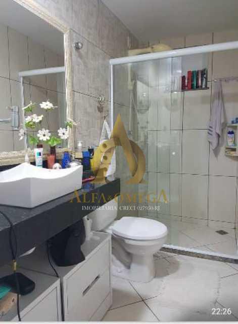 20 - Casa em Condomínio Estrada Mapua,Jacarepaguá, Rio de Janeiro, RJ Para Alugar, 3 Quartos, 200m² - AOJ60028L - 11