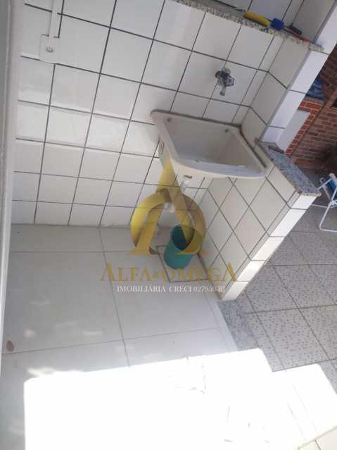7 - Casa em Condomínio Estrada da Soca,Taquara, Rio de Janeiro, RJ À Venda, 2 Quartos, 80m² - AOJ60077 - 26