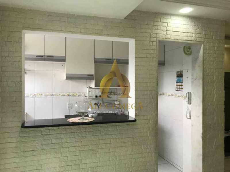 3 - Apartamento Rua Professor Henrique Costa,Pechincha, Rio de Janeiro, RJ À Venda, 2 Quartos, 54m² - AOJ20182 - 4