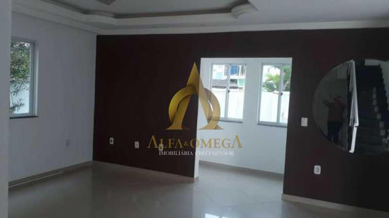 6 - Casa em Condomínio Rua Rodolfo Carvalho,Jacarepaguá, Rio de Janeiro, RJ Para Alugar, 2 Quartos, 150m² - AOJ60029L - 3