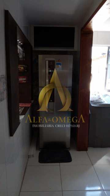 1 - Apartamento à venda Avenida Tenente-Coronel Muniz de Aragão,Anil, Rio de Janeiro - R$ 240.000 - AOJ20192 - 16