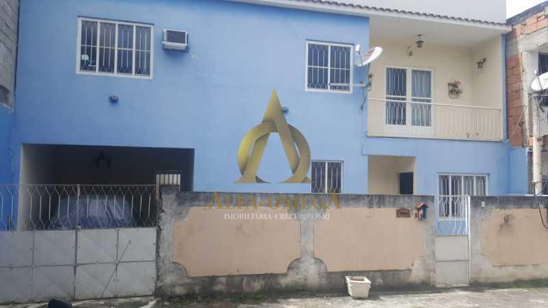 2 - Casa em Condomínio Estrada do Outeiro Santo,Taquara, Rio de Janeiro, RJ Para Venda e Aluguel, 3 Quartos, 200m² - AOJ60082 - 1