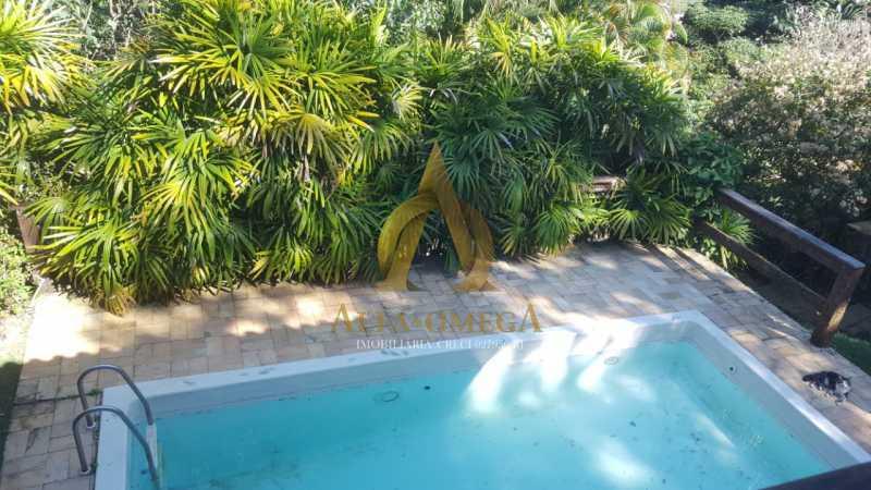 29 - Casa em Condomínio à venda Estrada de Jacarepaguá,Itanhangá, Rio de Janeiro - R$ 730.000 - AO60148 - 27