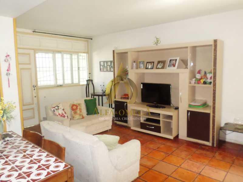 3 - Casa em Condomínio Rua Percy Lau,Pechincha, Rio de Janeiro, RJ À Venda, 3 Quartos, 180m² - AOJ60083 - 1