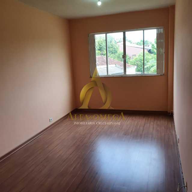 12 - Apartamento Estrada do Cafundá,Taquara, Rio de Janeiro, RJ Para Venda e Aluguel, 2 Quartos, 60m² - AOJ20194 - 1