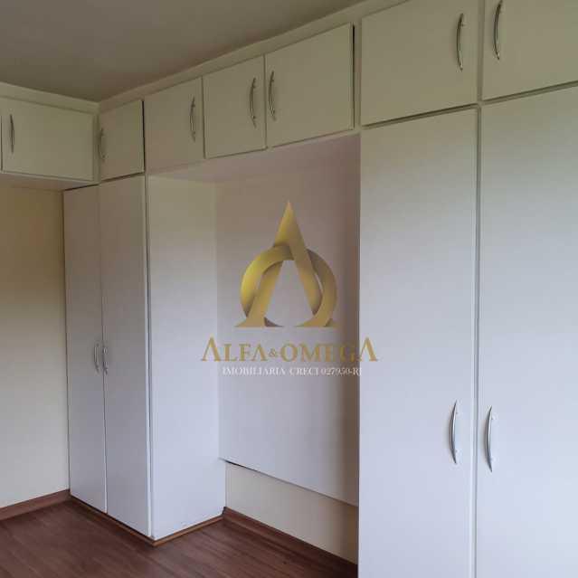24 - Apartamento Estrada do Cafundá,Taquara, Rio de Janeiro, RJ Para Venda e Aluguel, 2 Quartos, 60m² - AOJ20194 - 7