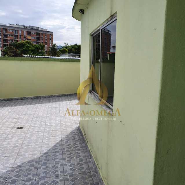 25 - Apartamento Estrada do Cafundá,Taquara, Rio de Janeiro, RJ Para Venda e Aluguel, 2 Quartos, 60m² - AOJ20194 - 15