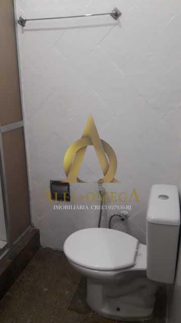 8 - Casa em Condomínio Estrada do Tindiba,Pechincha, Rio de Janeiro, RJ Para Alugar, 2 Quartos, 104m² - AOJ60035L - 12