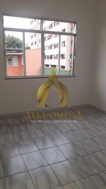 20 - Casa em Condomínio Estrada do Tindiba,Pechincha, Rio de Janeiro, RJ Para Alugar, 2 Quartos, 104m² - AOJ60035L - 9
