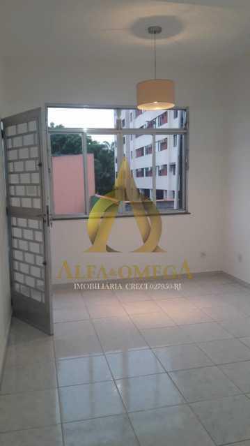 21 - Casa em Condomínio Estrada do Tindiba,Pechincha, Rio de Janeiro, RJ Para Alugar, 2 Quartos, 104m² - AOJ60035L - 1