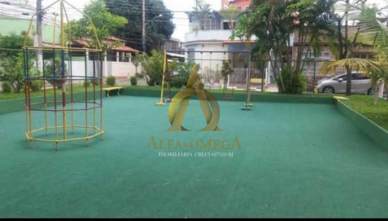 23 - Casa em Condomínio Estrada do Tindiba,Pechincha, Rio de Janeiro, RJ Para Alugar, 2 Quartos, 104m² - AOJ60035L - 24
