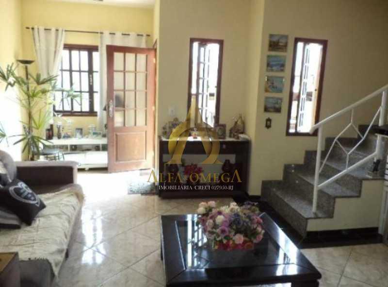 4 - Casa em Condomínio Estrada do Cafundá,Taquara, Rio de Janeiro, RJ À Venda, 3 Quartos, 350m² - AOJ60084 - 1