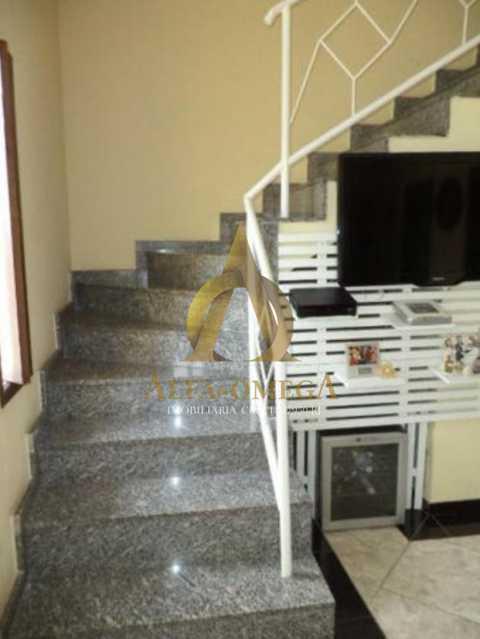 6 - Casa em Condomínio Estrada do Cafundá,Taquara, Rio de Janeiro, RJ À Venda, 3 Quartos, 350m² - AOJ60084 - 4