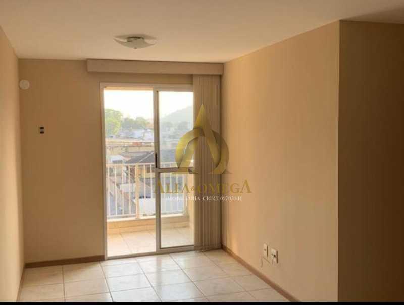 16 - Apartamento Rua Barão,Praça Seca, Rio de Janeiro, RJ À Venda, 3 Quartos, 70m² - AOJ30055 - 1