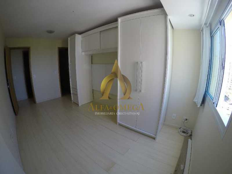 8 - Apartamento Praça Antônio Callado,Barra da Tijuca, Rio de Janeiro, RJ Para Alugar, 2 Quartos, 94m² - AO20299L - 9
