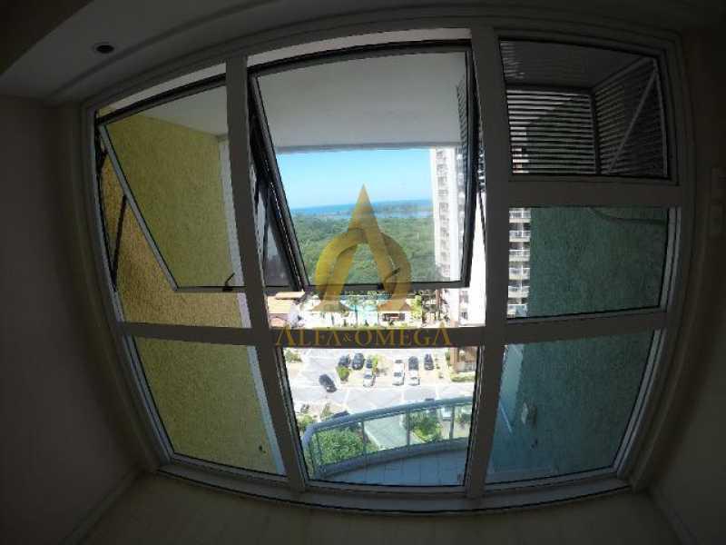 12 - Apartamento Praça Antônio Callado,Barra da Tijuca, Rio de Janeiro, RJ Para Alugar, 2 Quartos, 94m² - AO20299L - 14