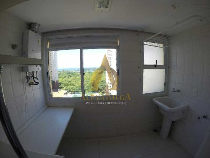 15 - Apartamento Praça Antônio Callado,Barra da Tijuca, Rio de Janeiro, RJ Para Alugar, 2 Quartos, 94m² - AO20299L - 19
