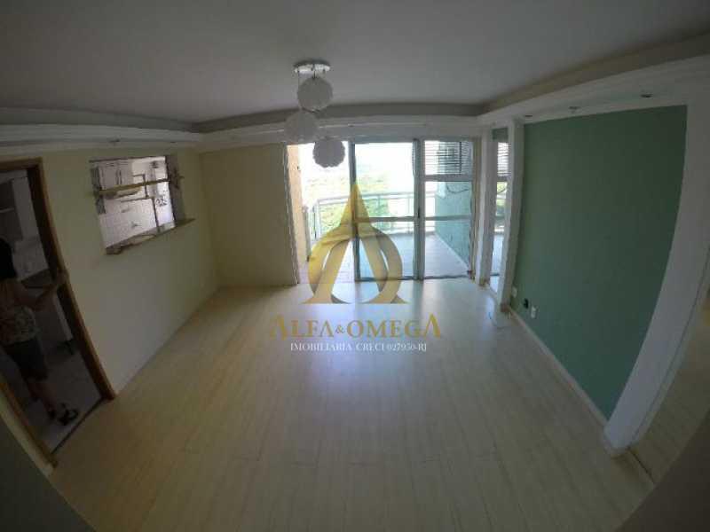 18 - Apartamento Praça Antônio Callado,Barra da Tijuca, Rio de Janeiro, RJ Para Alugar, 2 Quartos, 94m² - AO20299L - 1