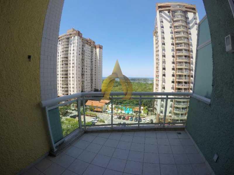 20 - Apartamento Praça Antônio Callado,Barra da Tijuca, Rio de Janeiro, RJ Para Alugar, 2 Quartos, 94m² - AO20299L - 4